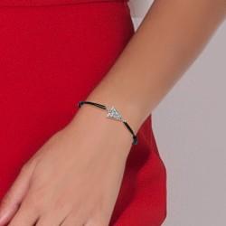 Bracelet lettre A élastique...
