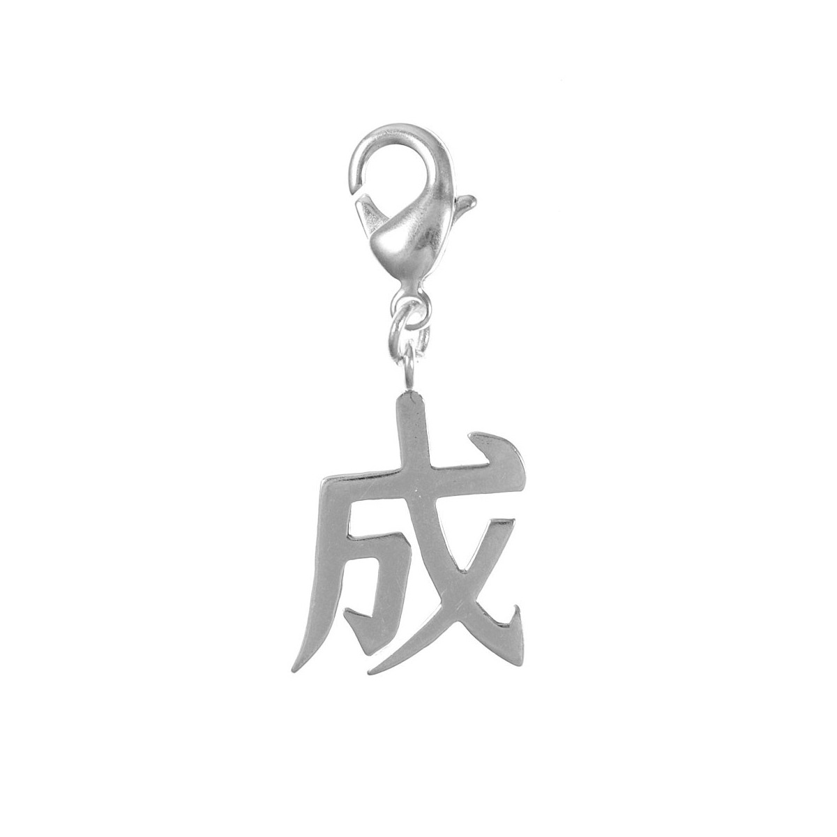 Charm signe chinois So Charm plaqué argent 3 microns