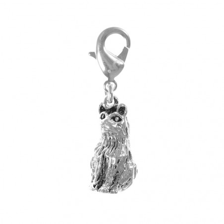 Charm chat So Charm plaqué argent 3 microns