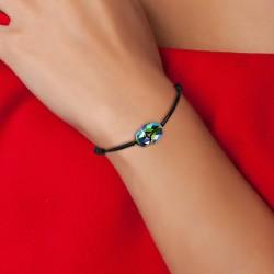 Bracelet scarabé noir BR01...