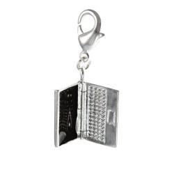 Charm ordinateur portable argent 3μm