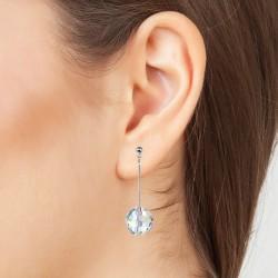 Boucles d'oreilles argentée...
