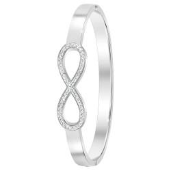 Bracelet infini en acier...