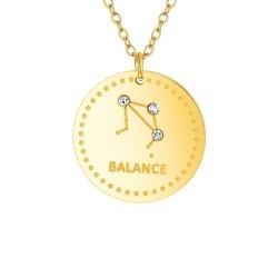 Collier astrologie  Balance...