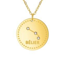Collier astrologie  Bélier...