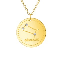 "Astrology Necklace ""Gemini""..."