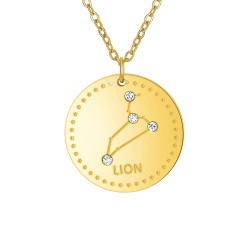 "Astrology necklace ""Lion""..."