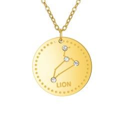 Collier astrologie  Lion...