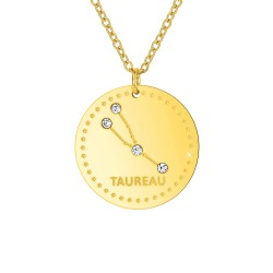 "Astrology necklace ""Taurus""..."