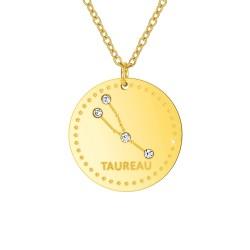 Collier astrologie  Taureau...