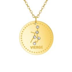 Collier astrologie  Vierge...