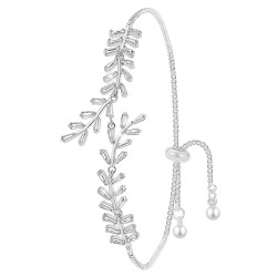 Silver bracelet BR01 in...