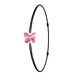 Black bracelet and...