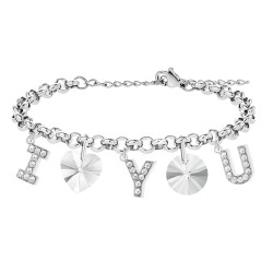 Bracelet I love you adorned...