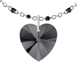 Black pearl necklace...