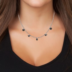 Cable chain necklace and...