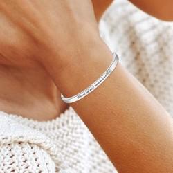 Bracelet BR01 en acier Rien...