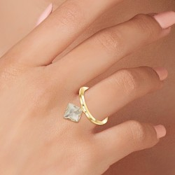 Ring BR01 adorned with a...