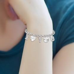 Bracelet I love you orné de...