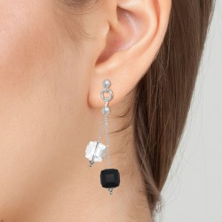 Earrings adorned with...
