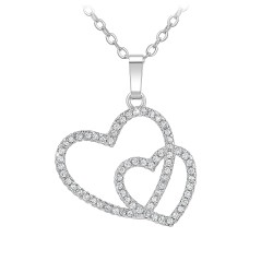 Hearts necklace by BR01