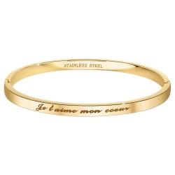 BR01 steel bracelet  I love...