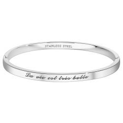 BR01 steel bracelet  Life...