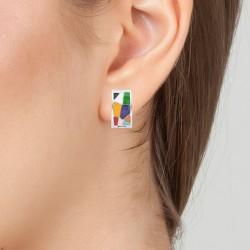 Stainless steel earrings by...