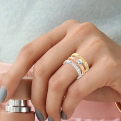 Set of 3 rings by BR01