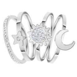 Set of 4 rings size 54 BR01...