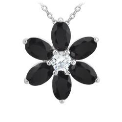 Flower necklace BR01...