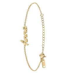 Bracelet prénom Anna