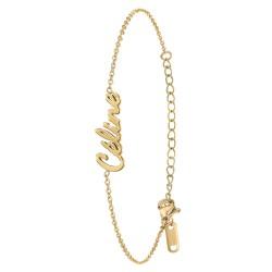 Celine name bracelet