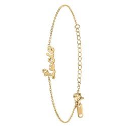 Lucie name bracelet