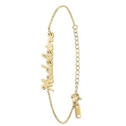 Madeleine name bracelet