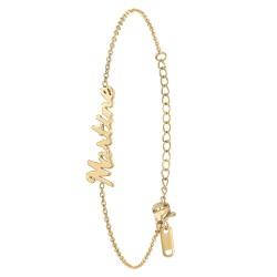 Bracelet prénom Martine