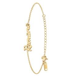 Bracelet prénom Romane