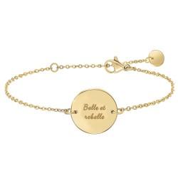 Bracelet Belle et rebelle...