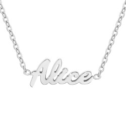 Alice name necklace