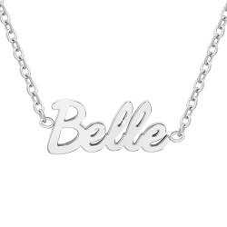 Collier à message Belle