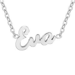 Collier prénom Eva