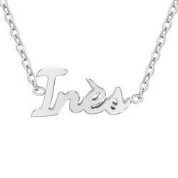 Inès name necklace