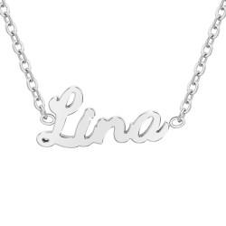 Collier prénom Lina