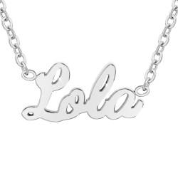 Lola name necklace