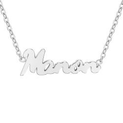 Manon name necklace