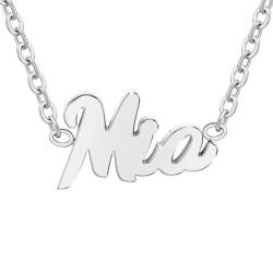 Mia name necklace