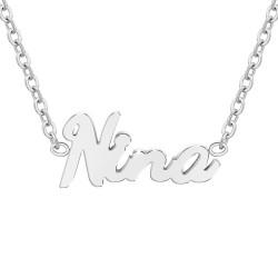 Nina name necklace