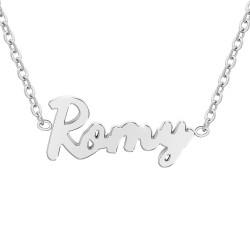 Collier prénom Romy