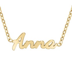 Collier prénom Anna