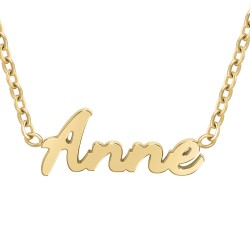 Collier prénom Anne